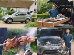 ランドローバーがつくった有名料理家のキッチンカーが驚きのクオリティ!