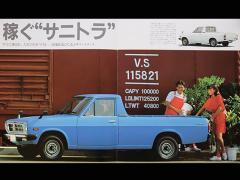【旧車趣味】日産 サニートラック その2