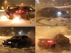 雪道でも最強4WD!? 日産GT-Rの雪上ダッシュがすごい!