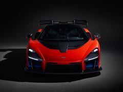 マクラーレン、アイルトン・セナの名前をモデル名にした新型モデルを発表
