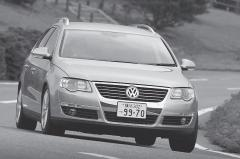 VWパサートヴァリアントに先代モデルでも人気の高かったV6+4WDが追加された