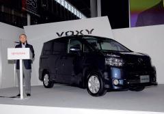 保有台数66万台超の大ヒット車 販売目標合わせて10000台 トヨタの新・方舟発進(ノア/ヴォクシー)