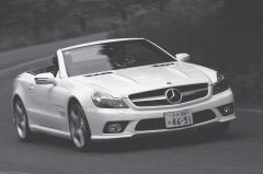 注目車試乗2 ビッグマイチェンで魅力がグーンとアップ!!メルセデスベンツSL&SLK