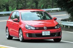 VWゴルフ「標準の17インチモデルでも充分GTIらしさが感じられる」