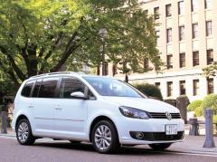 欧州車の雄VWの揺るがぬ底力ゴルフトゥーラン