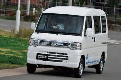 三菱ミニキャブ-MiEVでウキウキアウトドアライフ 軽バンが変われば日本が変わる