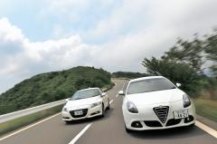 日本のスポーツカーは『名門』を超えたか? PART3 HONDA CR-Z VS ALFAROMEOジュリエッタ
