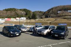 スバル製AWDモデル、フォレスター&インプレッサXV&レガシィツーリングワゴン&アウトバックの試乗会