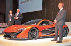 究極のスーパーカー、マクラーレンP1日本初披露! 価格はほぼ1億円!!