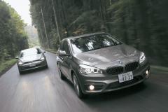 BMW 2シリーズアクティブツアラーはFFの教科書、VWゴルフと比べてどうなんだ!!