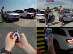 BMW vs メルセデス! リモートコントロールで競うドラッグレース!?
