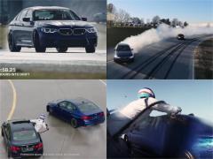 ノンストップで8時間ドリフトしっぱなし! BMW M5がギネス認定!
