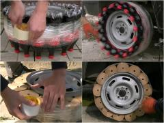 ペットボトルやトイレットペーパーって、タイヤの替わりになる?