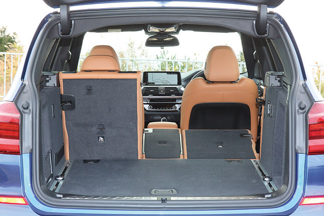 BMW X3(ラゲッジスペース)