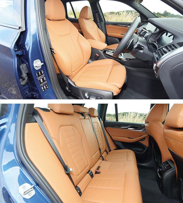 BMW X3(インテリア)