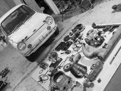 走れR-2 「エンジンをバラす」の巻