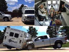 アメリカ発! 救急車のクラッシュテストが驚きの迫力!