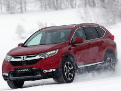 HONDA 新型CR-Vプロトタイプ雪上試乗