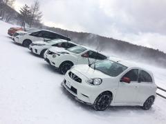 日産EV 雪上・氷上実力判定