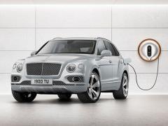 英ベントレー、高性能SUV「ベンテイガ」のハイブリッドモデルを2018年後半に導入