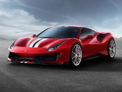 フェラーリ、ジュネーブショーで史上最強V8エンジン搭載「488 Pista」を発表