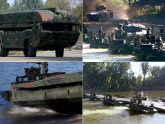 素早く河に橋をかける! 架橋戦車がスゴイ!