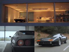フェラーリ 512BBを中心に家をデザインしたエンスージアストの幸福