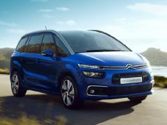 シトロエン、限定車「グランド C4 ピカソ BlueHDi ワイルドブルー」を発売