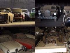 発見! ポルトガルの納屋にひっそり眠っていた180台ものヴィンテージカー