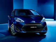 トヨタ、「アクア」の一部仕様を変更、特別仕様車も設定