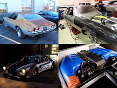 年代物のシボレーカマロが750馬力エンジンを搭載して生まれ変わる!