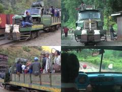 車が線路を走行!?  ミャンマーの山岳地帯で活躍する日本製レールトラック