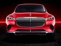 マイバッハ、新型SUV「ビジョン・アルティメット・ラグジュアリー」を北京で公開