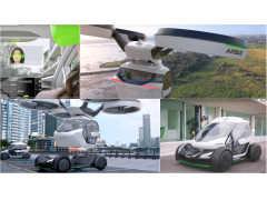 ジウジアーロが設立した名門イタルデザインが描く空飛ぶクルマ