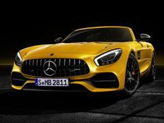 メルセデスAMG、「AMG GT Sロードスター」を発表