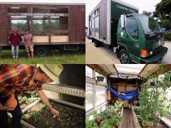 トラックを改造して温室栽培! アメリカで「持続可能な農業」の啓蒙活動を行う青年