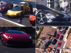 豪華絢爛ミーティング! モナコのスーパーカーオーナー