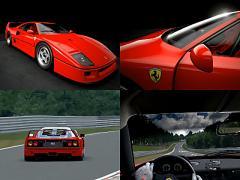 夢が叶う!? VRで伝説のフェラーリ F40をニュルで体感!