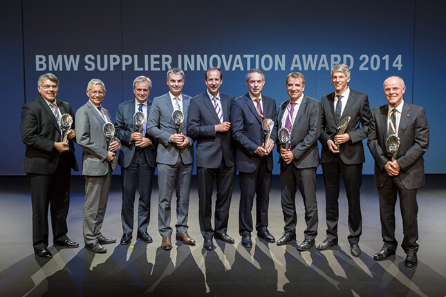 「オロジック」は、BMWが革新的な技術を提供したサプライヤーを表彰するアワードにも選ばれた。タイヤメーカーの受賞は異例だ。