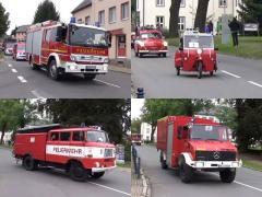 個性派、レトロ、何でもござれ! ドイツの消防車パレードが楽しい