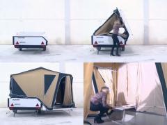 快適&設置もかんたん! スペイン製トレーラーテントがスグレもの!