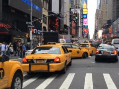 ニューヨークの街を走って見たら、タクシーが日本車ばかり!?