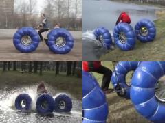 ダートも水上も軽々走破! ATVは手作りできる!