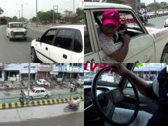 ずっとバック走行で営業!? おそるべしインドの仰天タクシー!