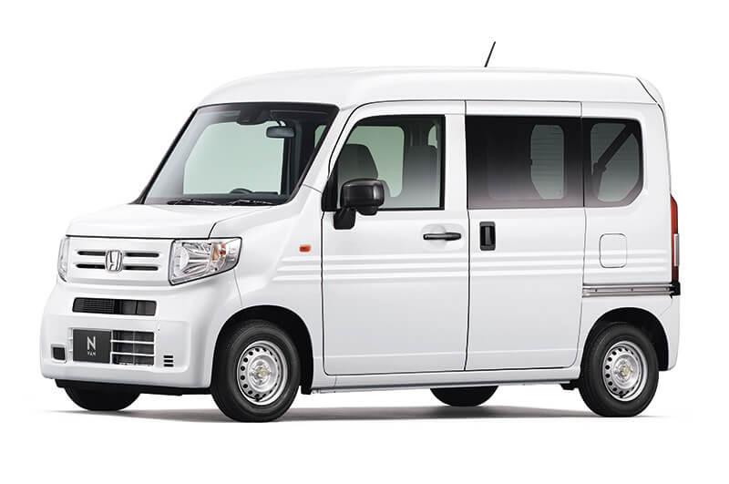 N-VAN G・Honda SENSING (タフタホワイトII)の画像