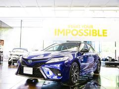 トヨタカムリにスポーティーな新グレード「WS」が登場!