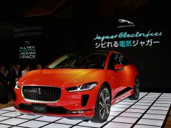 ジャガーから電気自動車のSUV「I-PACE」が登場!