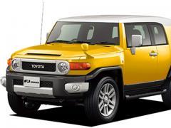 トヨタFJクルーザーの中古車購入の際の選び方の参考ポイント