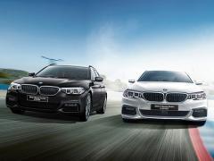 BMW、「5シリーズ」のセダン/ツーリングに特別仕様車「M Spirit」を追加