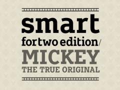 メルセデス・ベンツ、ミッキーとコラボした「スマート フォーツー」を発売